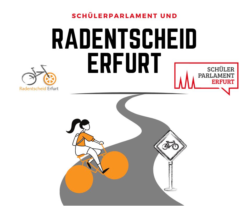 Schülerparlament Erfurt unterstützt Radentscheid